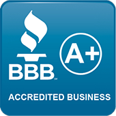 Berry Family Pools has an A+ rating with the BBB.