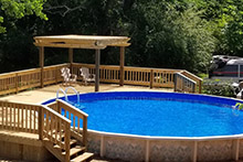 A Doughboy pool from Berry Family Pools